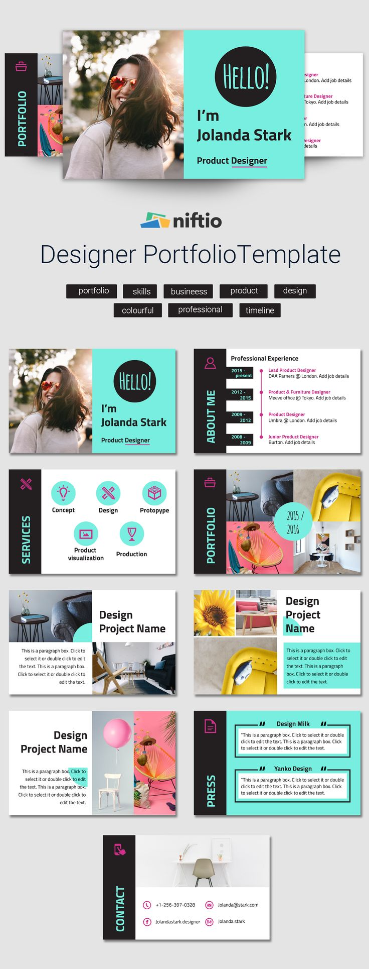 23 best business presentation templates images on pinterest, Presentation templates