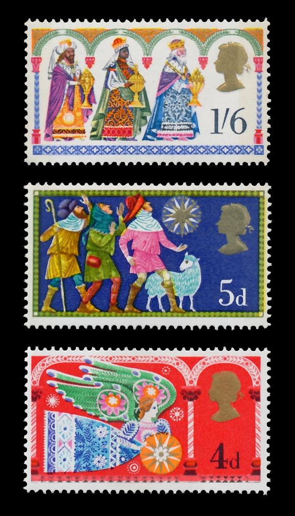POSTAGE STAMP: British Christmas Stamps