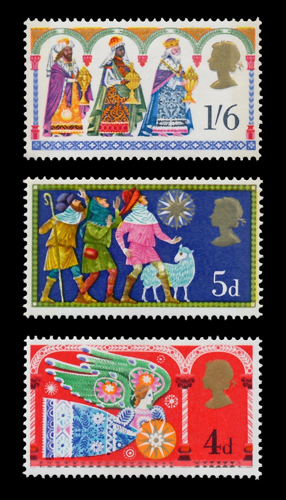 POSTAGE STAMP: British Christmas Stamps