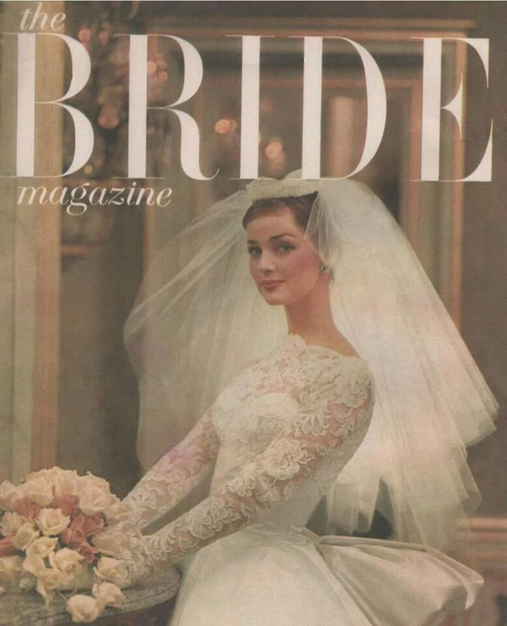 Best Vintage Bridal Magazine Covers Ads Images On Pinterest