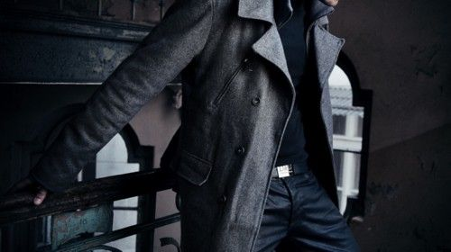Wax Denim and Peacoat: Men Style, Men Fashion, Men Jackets, Cars Girls, Swag Style, Trench Coats, Random Inspiration, Girls Style, Casual Dresses