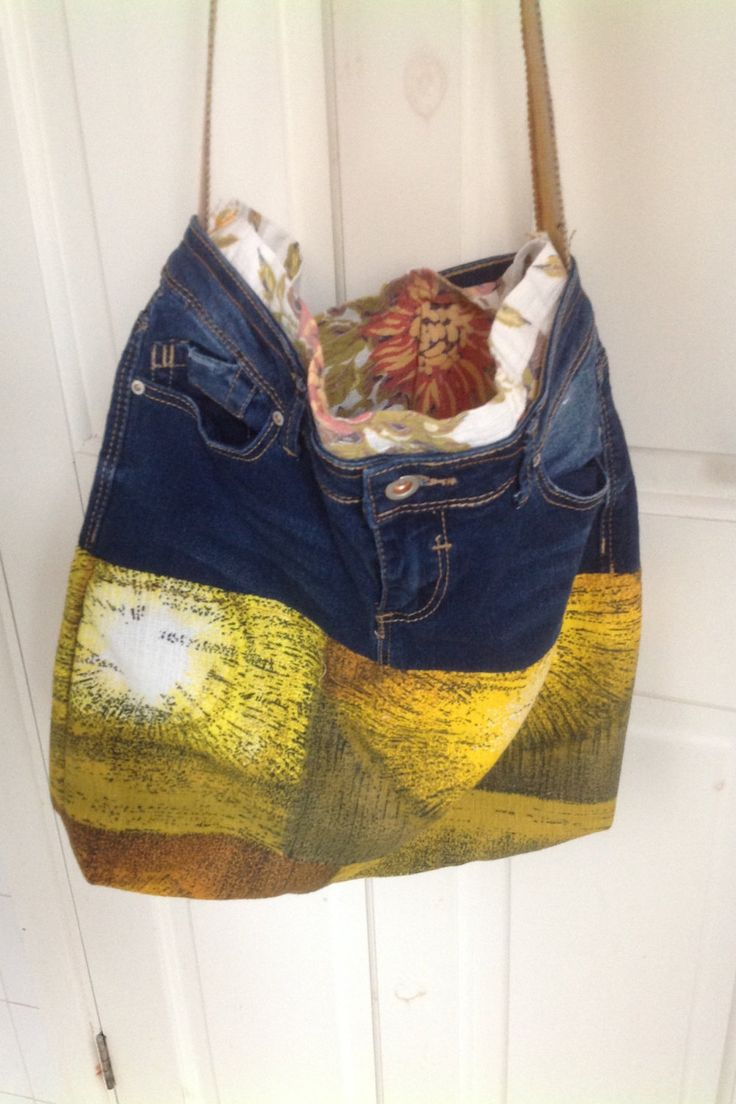 Bag cross body handmade shoulder bag vintage and reclaimed barkcloth denim cotton mid century strap across body handbag shopping bag funky by ReworkedHomewares on Etsy