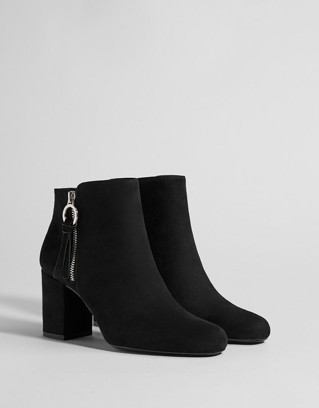 41034ee8e68a Boots   Ankle boots - SHOES - WOMEN - Bershka United States