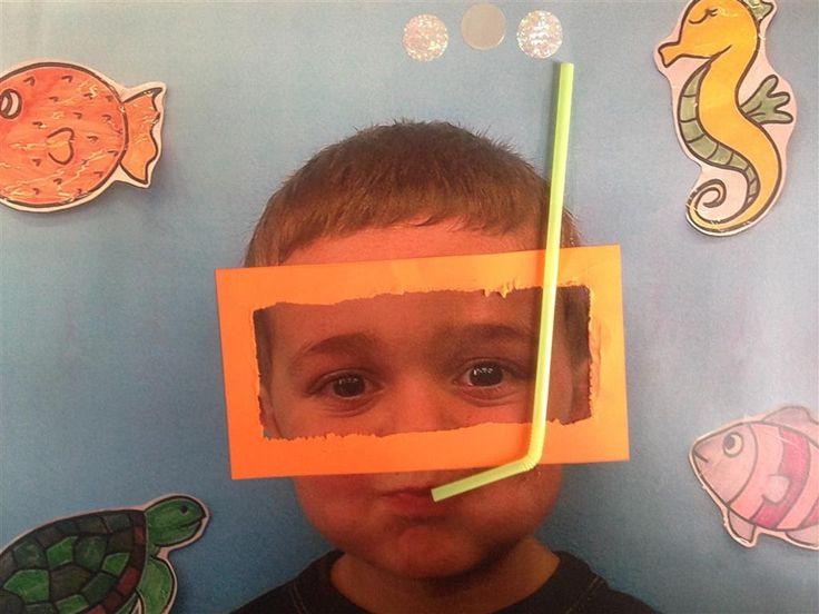 ÀLBUMS FONS DEL MAR 3r TRIMESTRE - Material: fotografia, cartolina, punxó, cola, palleta - Nivell: Infantil P3 2014/15 Escola Pia Balmes