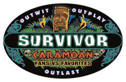 Survivor: Caramoan | Fans vs. Favorites 2 (logo)