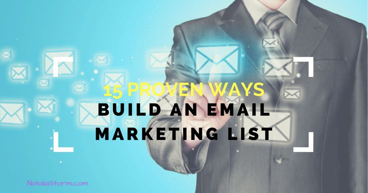 A list of engaged subscribers is one of the most effective and reliable marketing resources. A good email marketing list so valuable that it can't be bought.