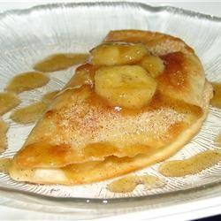Receitas - Crepes com banana - Petiscos.com
