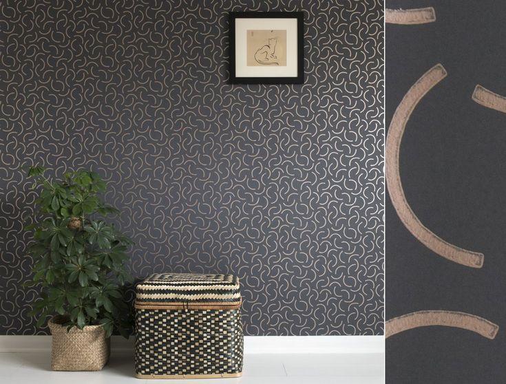 les 25 meilleures id es de la cat gorie papier peint r tro sur pinterest design vintage. Black Bedroom Furniture Sets. Home Design Ideas
