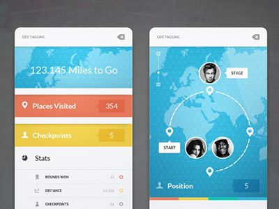 Dribbble - Geo Tagging by Cosmin Capitanu