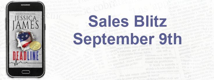 Sales Blitz: Deadline by Jessica James https://www.goodreads.com/book/show/29228084-deadline  Amazon: http://amzn.to/2xVLUWI Universal links: books2read.com/u/bMrPPB #99cents #sale #Deadline @jessicajames