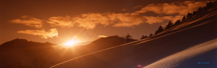 Winter sunset - tramonto invernale