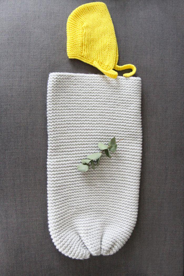 """les tricots de Granny - Le """"cocoon naissance"""" de Granny©"""