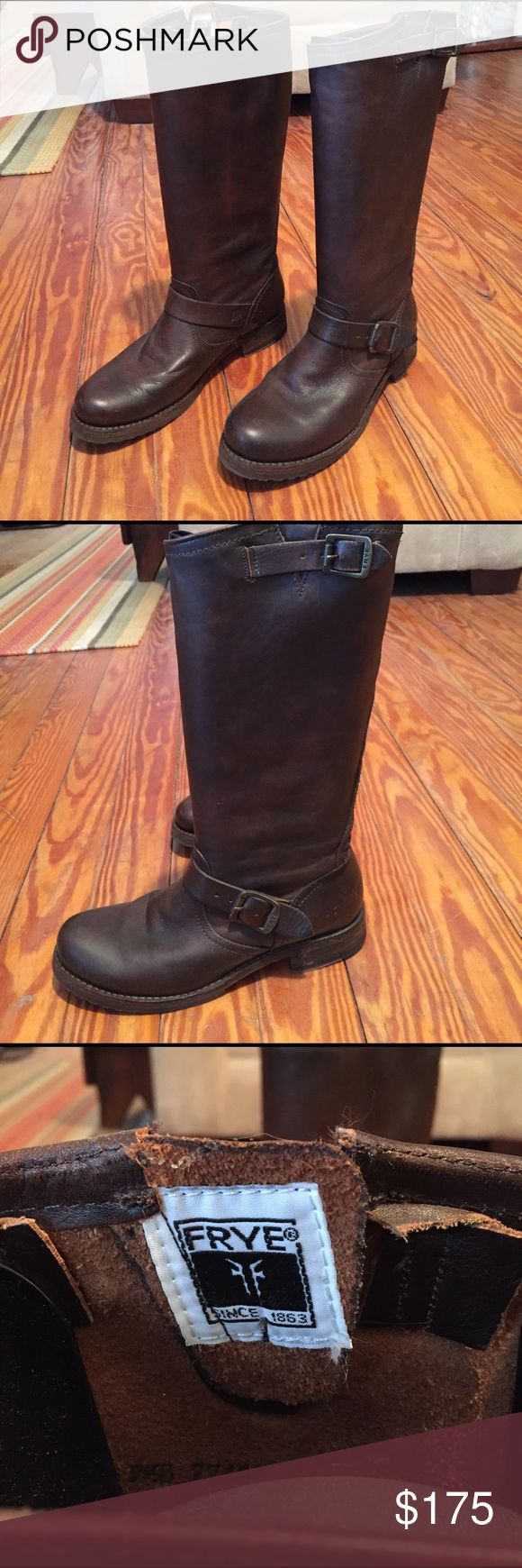 Frye Veronica Slouch Boots Worn only a handful of times. Love them and will miss them! Frye Shoes