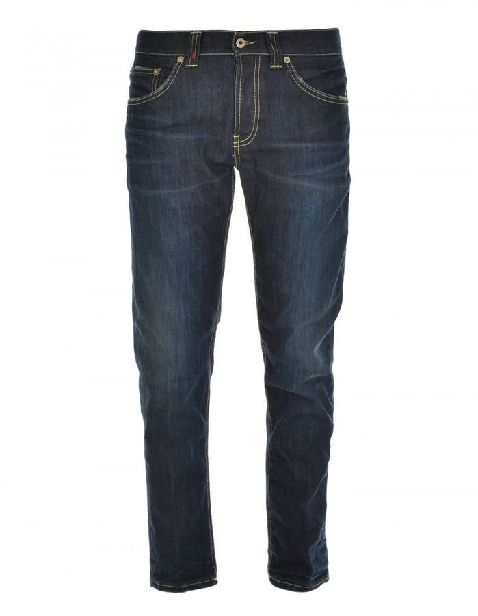 Dond Up Stretch Cotton Jeans