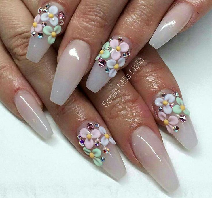 Best 25 3d flower nails ideas on pinterest 3d nail art 3d 3d nails art acrylic nails flower nail designs nail art designs nails design 3d flower nails gorgeous nails pretty nails comment prinsesfo Gallery