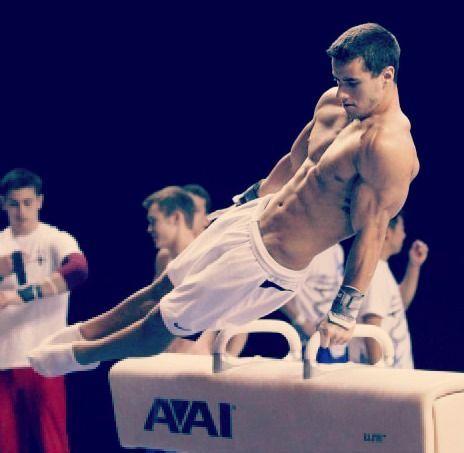 Jake Dalton…  half the reason to watch mens gymnastics… hot men!