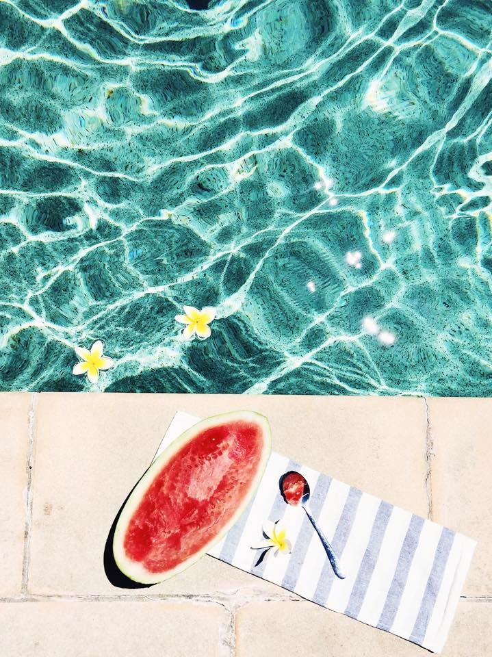 Ice Cold Watermelon, bright warm sunshine and beautiful blue waters.... I see a second trip coming very soon. This is amazing!