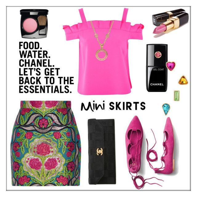 Food. Water. Chanel. The Essentials. (tfs) by pat912 on Polyvore featuring polyvore, fashion, style, Topshop, Gucci, Gap, Chanel, Betsey Johnson, clothing, polyvoreeditorial, FashionMYWay and polyvoreatitsbest
