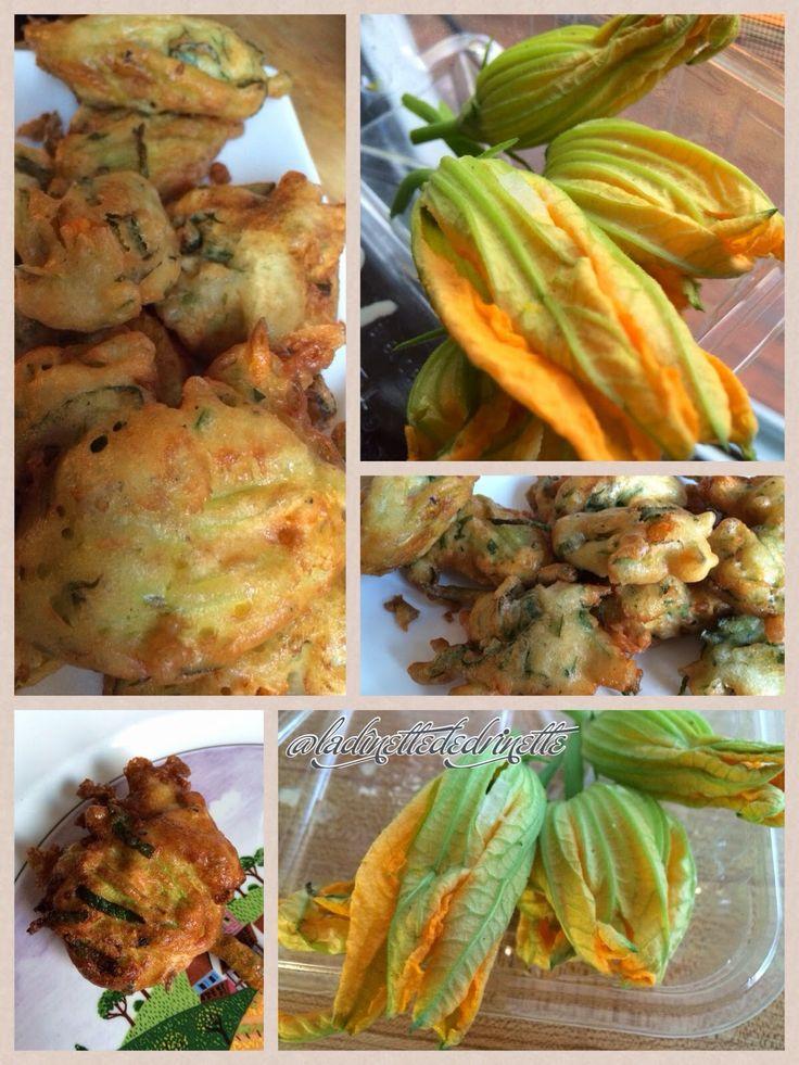 Les 105 meilleures images du tableau recettes cuisiner sur pinterest recettes cuisines et - Beignets de fleurs de courgettes ...