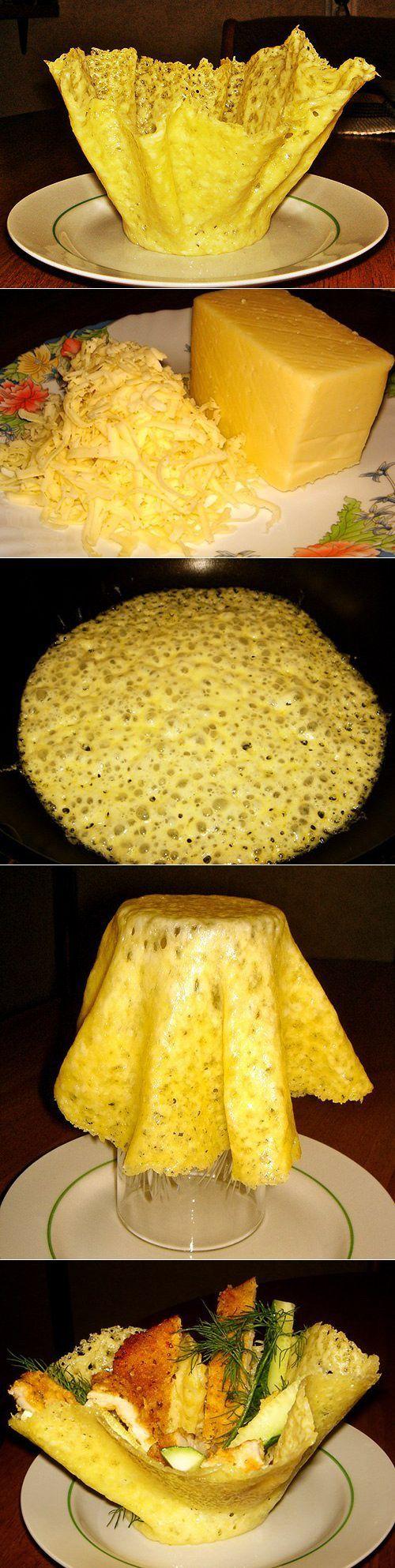 Приготовление сырных корзиночек | Готовим вместе | сытно есть | Постила