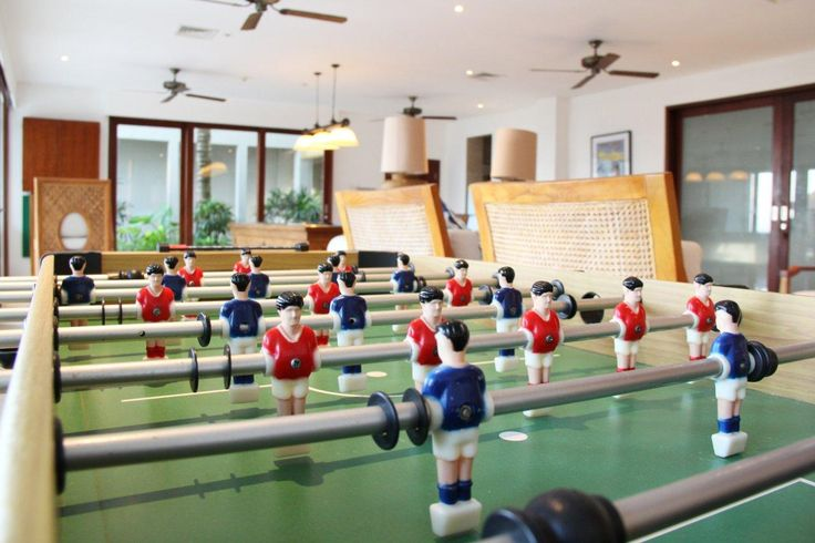 Soccer table at Puri Salila games room #Anapuri #Bali