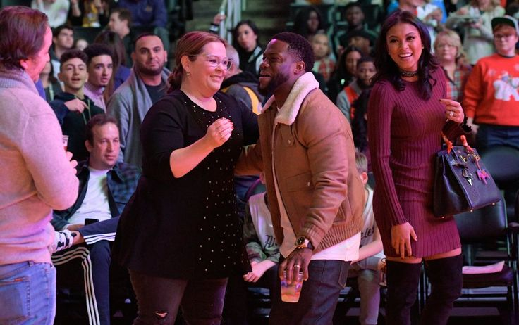 Kevin Hart and Eniko Parrish Show Off Their Sweet Love at a Basketball Game on Christmas Day