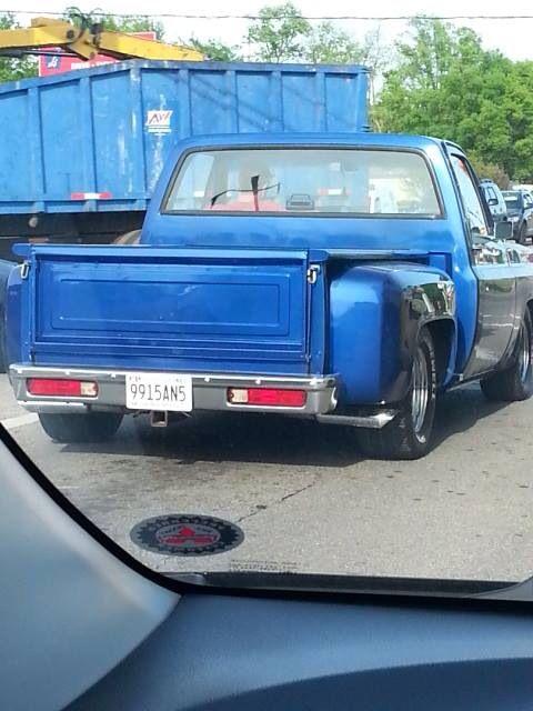 C10 With El Camino Rear Bumper Chevy C10 Pinterest