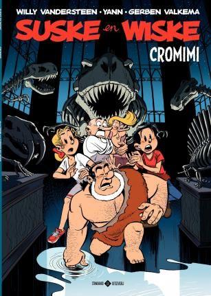Stofomslag-Suske en Wiske HommagesNr1 - Cromimi - YannGerben Valkema