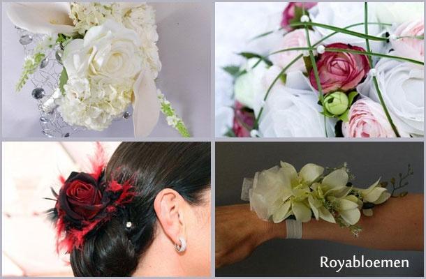 Informatie over zijden bruidsboeketten