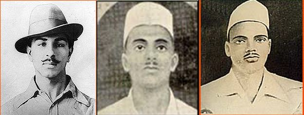 Tributes to Brave-heart Legends Bhagat Singh, Sukhdev and Rajguru on #ShahidDiwas from Team #Mytrux