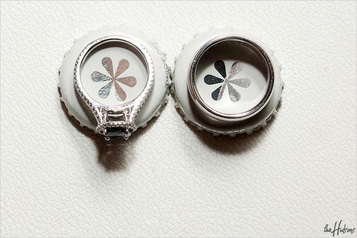 Ring shot with Izze soda bottle caps! - Photo by Jason