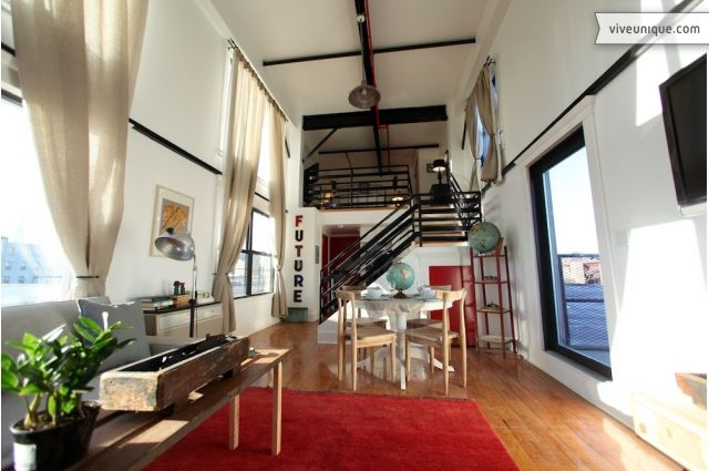 New York Loft Suite with 16ft ceiling near Times Square