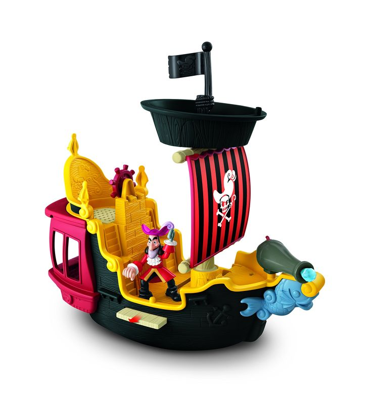 Fisher-Price Disney's Jake and The Never Land Pirates Hook's Jolly Roger Pirate Ship   For Brice