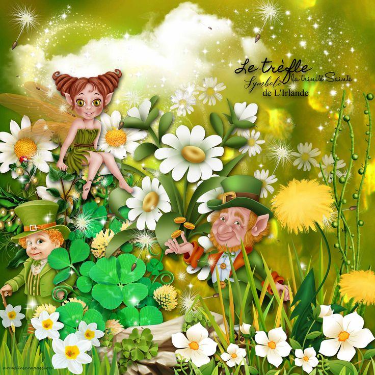 """une page crée avec le kit de Agnès Vannier, Kittyscrap, """"St Patrick, a wonderful day""""  en boutique ici: SCRAP FRANCE : http://scrapfromfrance.fr/shop/index.php… DIGITAL CREA : http://digital-crea.fr/shop/… MY MEMORIES : http://www.mymemories.com/store/designers/KittyScrap ESCAPE & SCRAP : https://www.e-scapeandscrap.net/boutique/index.php… DIGISCRAPBOOKING.CH : http://www.digiscrapbooking.ch/shop/index.php…"""
