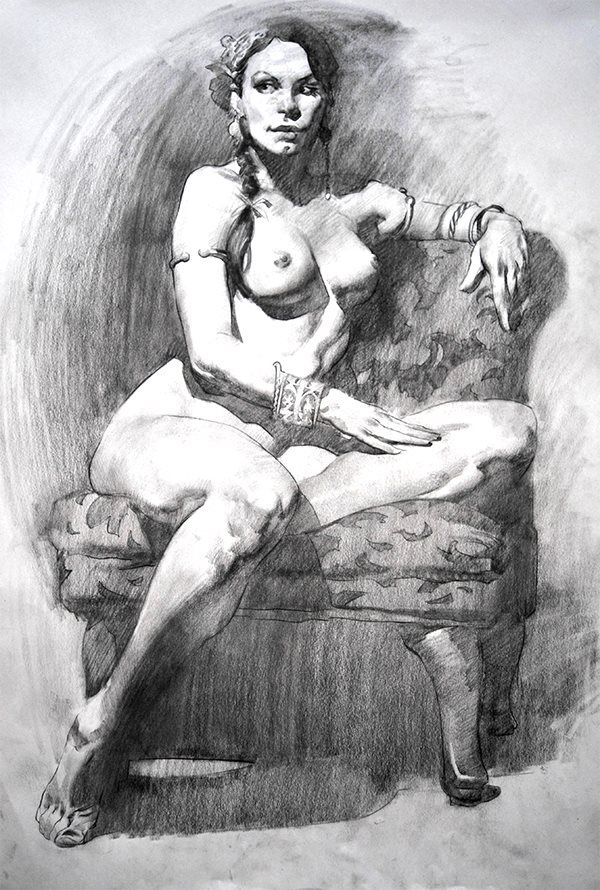 Figure Drawing, by Watts Atelier founder Jeffrey Watts http://wattsatelier.tumblr.com/