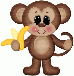Silhouette Online Store - View Design #46070: monkey eating banana