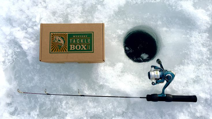 Mystery tackle box ice fishing slam challenge january for Fishing mystery box