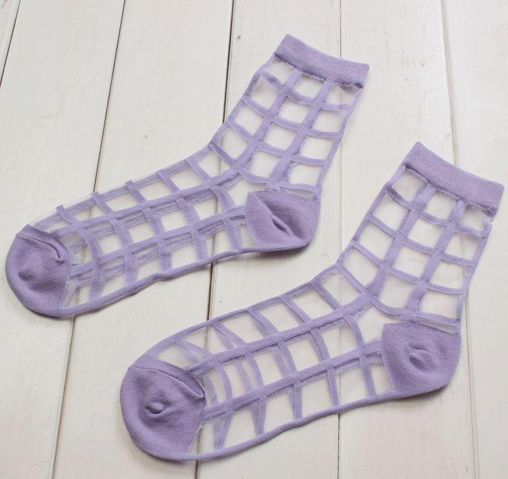 Sheer Cage Socks $1.79