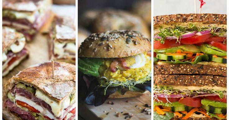 Rompe los esquemas con estos sándwiches que transformarán tu paladar para siempre