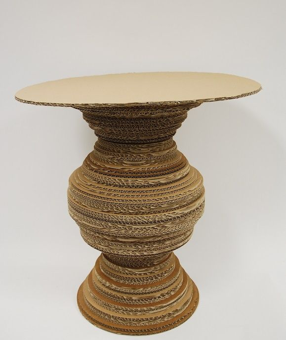 cardboard creations | Cardboard Table by Xochitl Manktelow | Cardboard Crafts/ Créations à ...