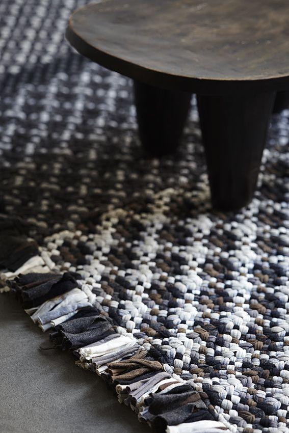 Kasuri rug. Fiberspace Collection.