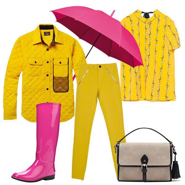 Весна и дождь 2015: как носить резиновые сапоги