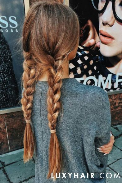 Best 25 thick braid ideas on pinterest boho braid boho thick braids using dirty blonde luxy hair extensions on olgasaroka pmusecretfo Image collections