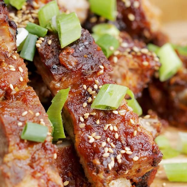 These Korean-Style Ribs Are Everything You Need In Life. Do in crock pot on low 7.5 hours and then broil