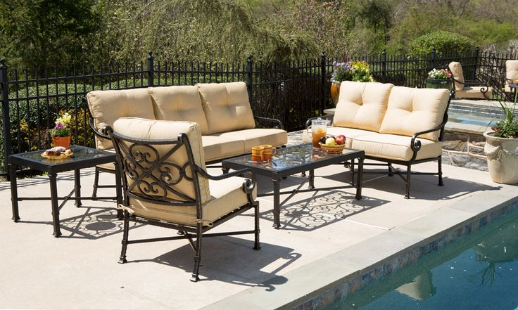 Alfredo Outdoor Dining and Patio Furniture Ideas for your home. Let the entertaining begin. https://www.goodshomefurnishings.com/outdoorfurniture/