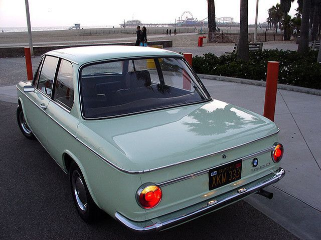"1968 BMW 1600 in ""Florida Green"""