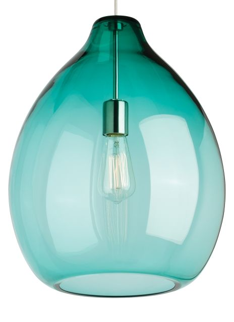 Grand scale and unparalleled quality are immediately evident when approaching the large scale Quinton glass pendant light from Tech Lighting. The flawless organic bulb shape is hand blown by highly skilled artisans in Poland. The LED version of this light fixture features Tech Lighting's Alva pendant light for a twist of modern style.