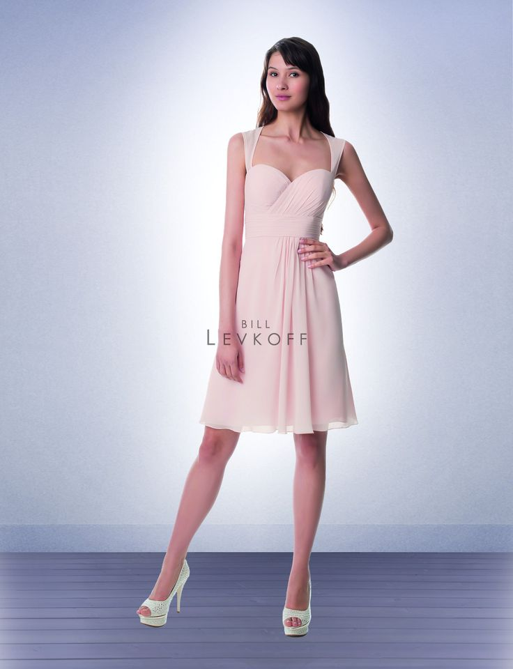 Bridesmaid Dress Style 973 - Bridesmaid Dresses by Bill Levkoff - $189. Plus size 18-22: $30; 24-30: $40.