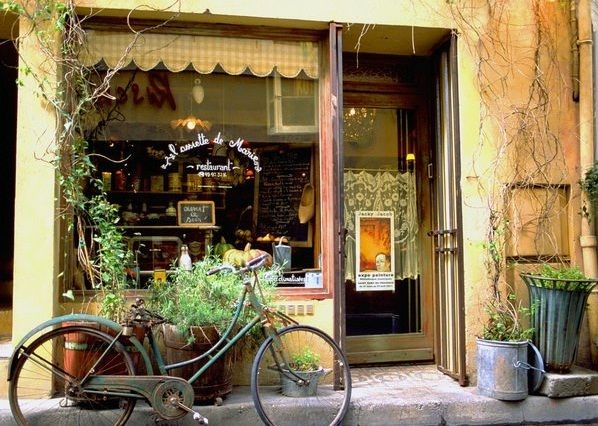 France: French Bistros, Shops Windows, Stores Front, Country Pics, French Country, Gardens Container, Windows Shops, Windows Treatments, Shops Front