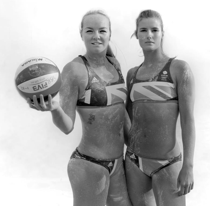 GB Volleyball Team in Stella McCartney GB Kit for 2012  shot by Tony Lewis for spashion